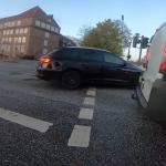 Fuß- und Radverkehrsgefährdung Lichtsignalanlage Saarlandstraße/ Osterbekstraße